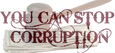 STOP CORRUPTION NOW