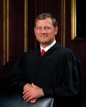 Official portrait of U.S. Supreme Court Chief Justice John G. Roberts.